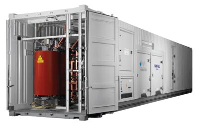 Banc de charge conteneur NAVAL Group 40ft 3.2MVA - Metal Deploye Resistor