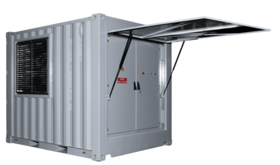 Resistive container load bank -10ft 500kW 11kV